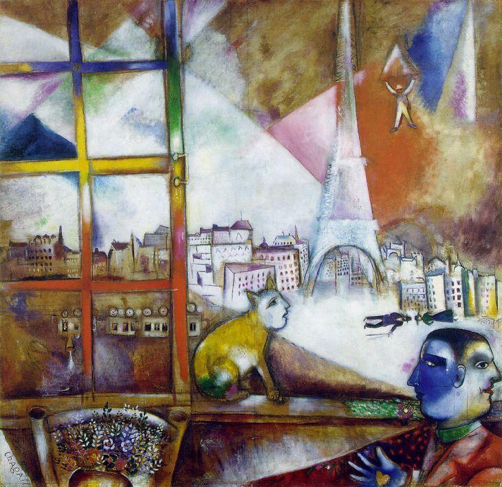 Paris vu par les peintres laziqacaz for Vu de ma fenetre grand corps malade