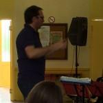 notre chef d'orchestre Claude Lourties