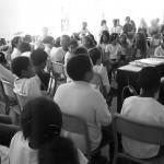 répétition au collège Salinis